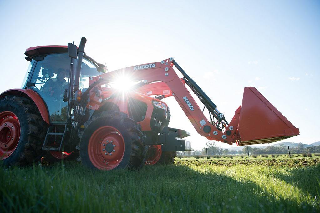Kubota M5 series breaks cover - www farmmachinerysales com au