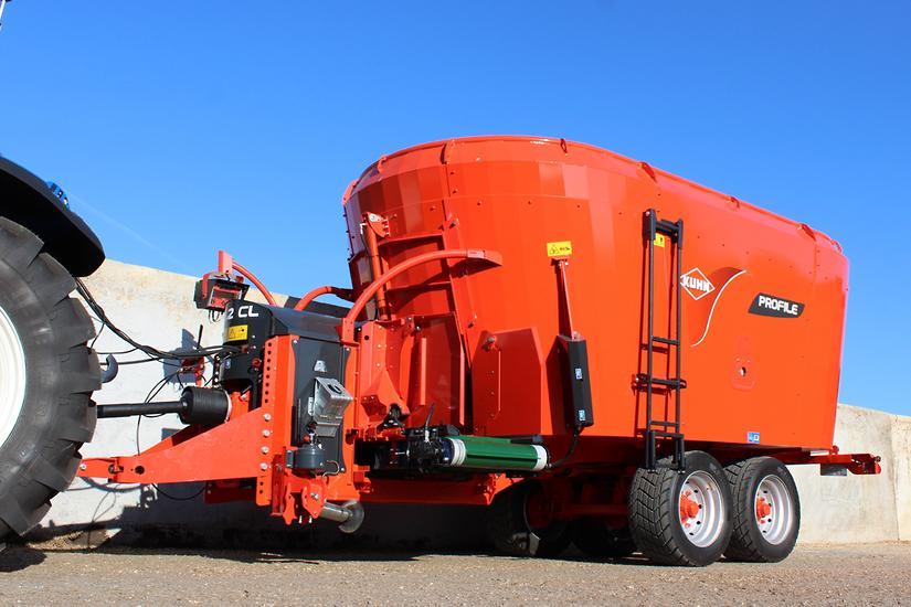 KUHN unveils new PROFILE 24 2 DL mixer wagon - www