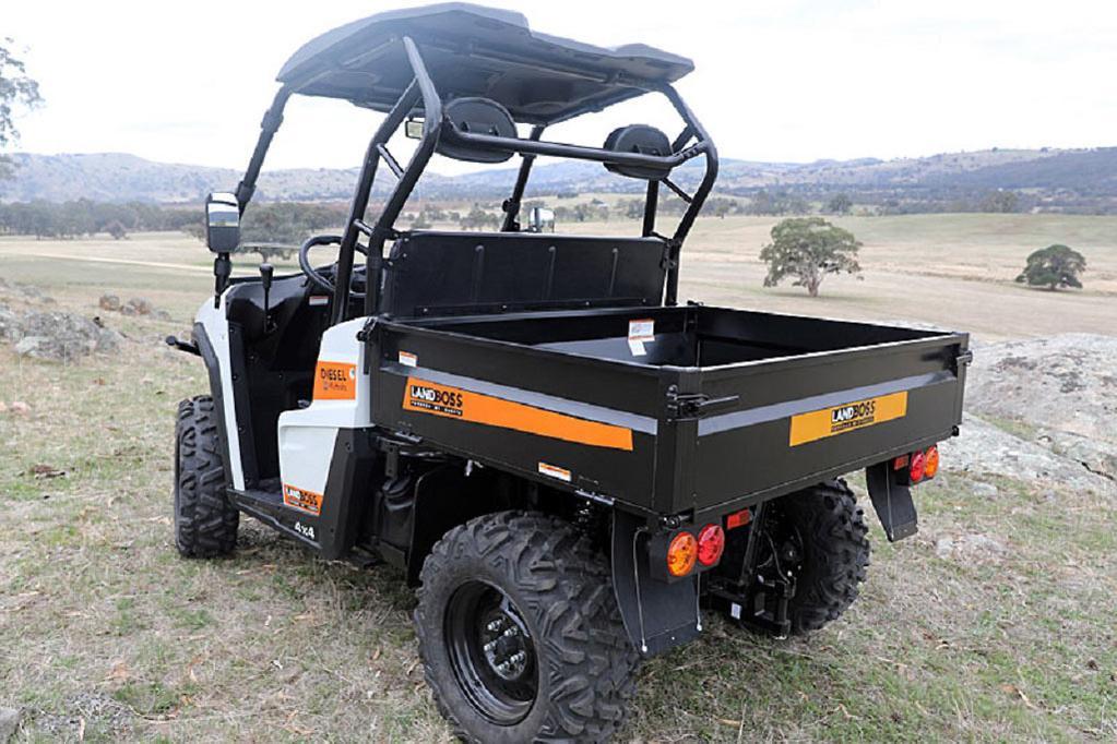 Landboss unveils new side-by-side - www farmmachinerysales com au