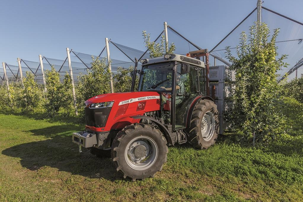 Massey launches MF 3700 specialist tractor range - www