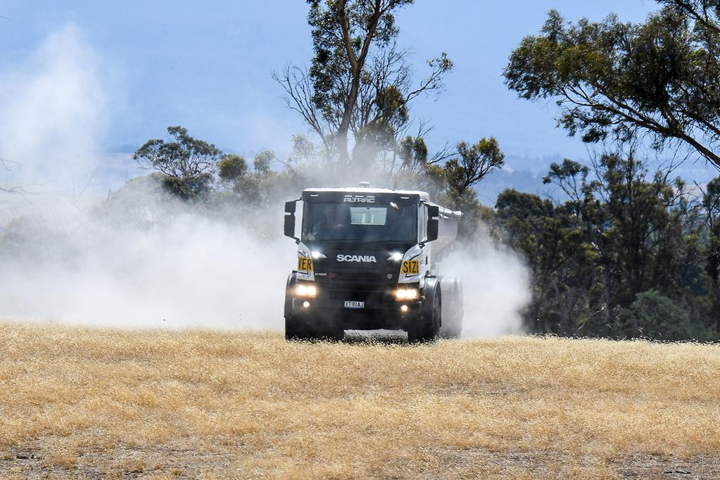 2018 Scania P 450 XT with Southern Spreader bin: Operator Review