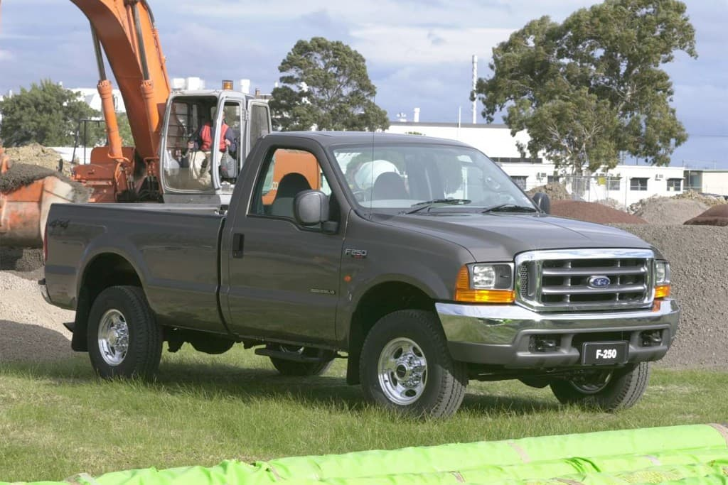 2001 ford f250 transmission overheating