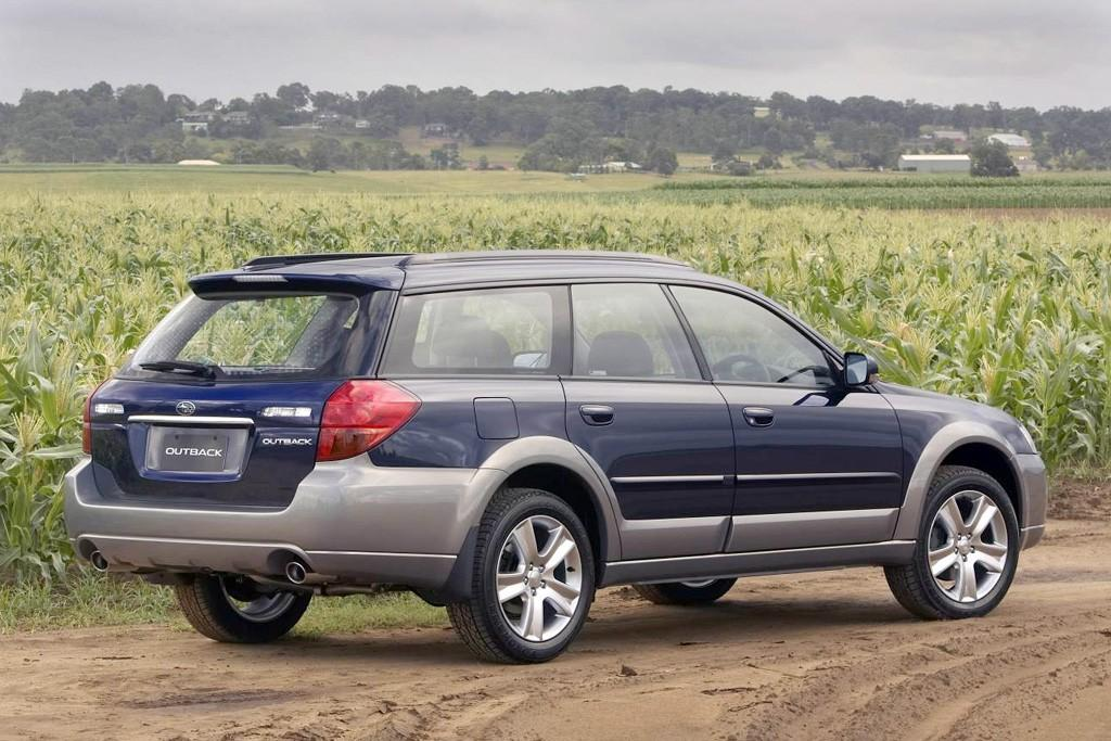 Buying Used: Subaru Outback (2003-2009) - www redbook com au