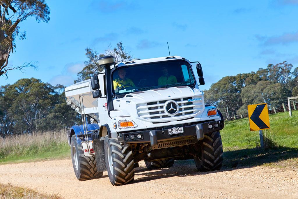 Mercedes Benz Zetros Spreads The Word Www Trucksales Com Au