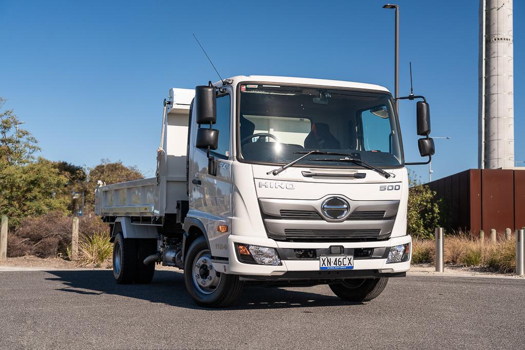 Hino 500 Series FC 1124 Tipper: Review - www trucksales com au
