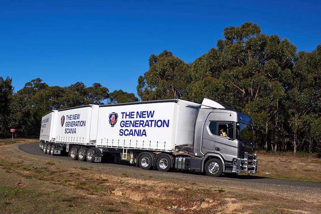 New Gen Scanias on show - www trucksales com au