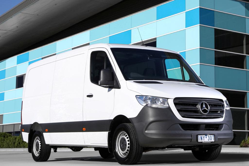 0ee4f64557 2018 Mercedes-Benz Sprinter  Review - www.trucksales.com.au