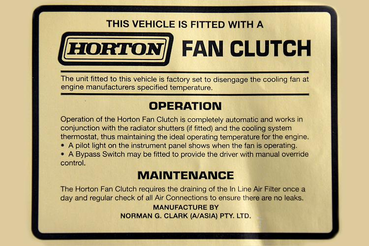 Advice: Horton Fan – What to look for - www trucksales com au