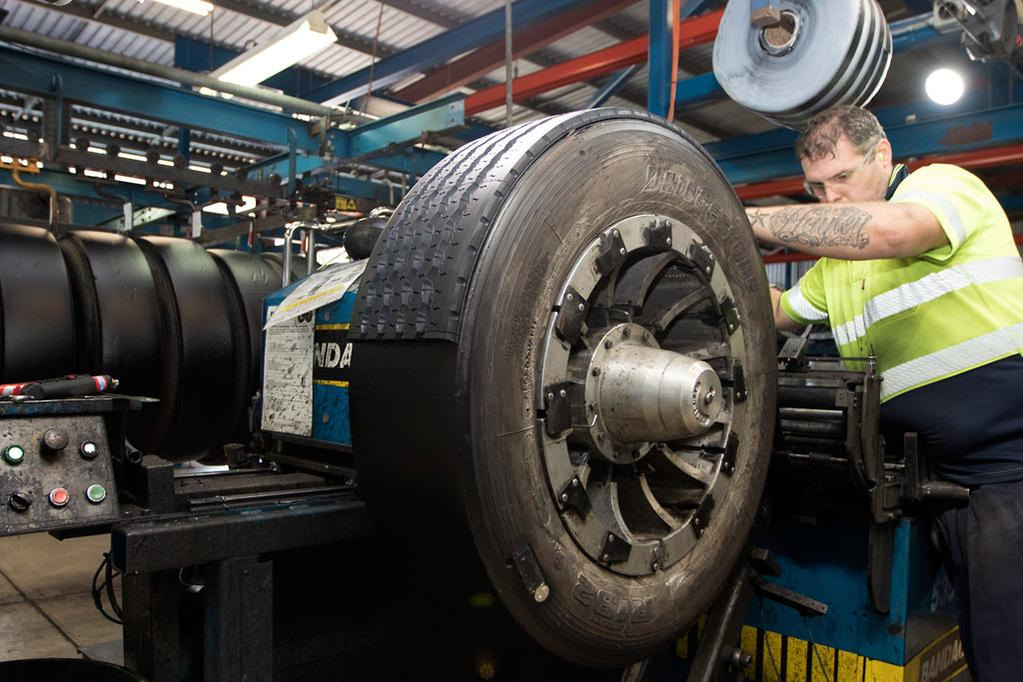 Advice: What's in a retread - www trucksales com au