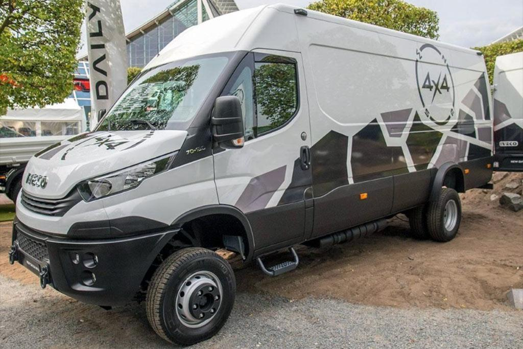 New IVECO Daily 4x4 range released in Germany - www trucksales com au