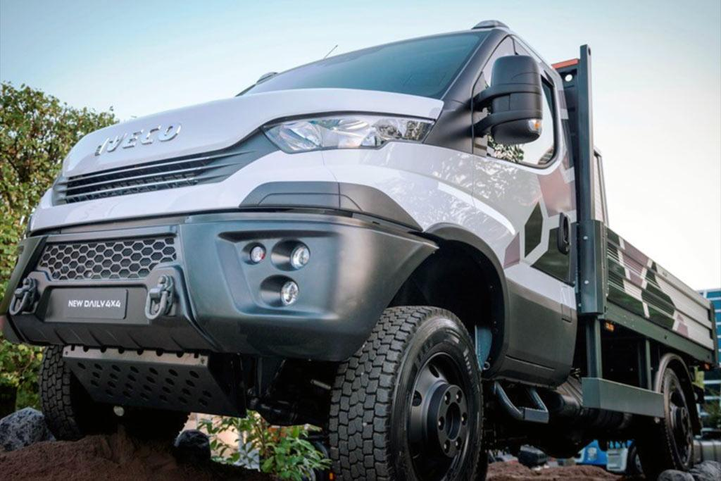 New Iveco Daily 4x4 Range Released In Germany Www Trucksales Com Au
