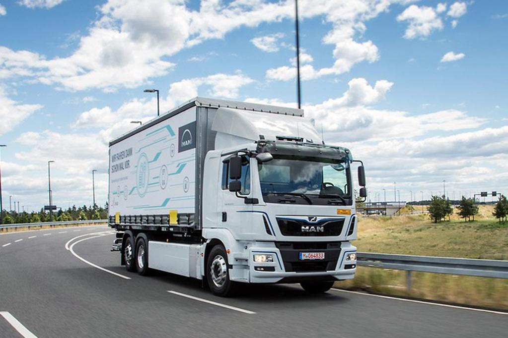 MAN hands over electric trucks for testing - www trucksales