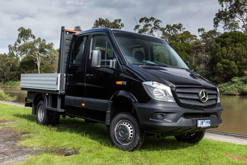 Mercedes-Benz Sprinter 516CDI 4x4: Review - www trucksales