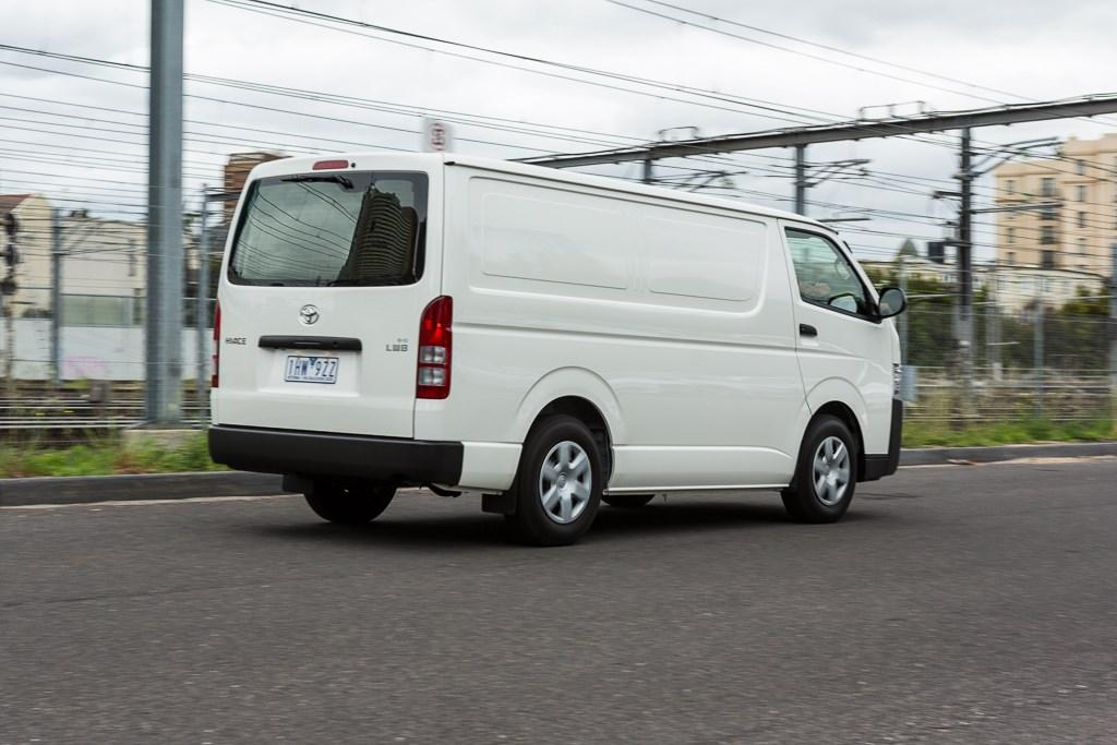 b90b7a1156 2016 Toyota HiAce  Review - www.trucksales.com.au