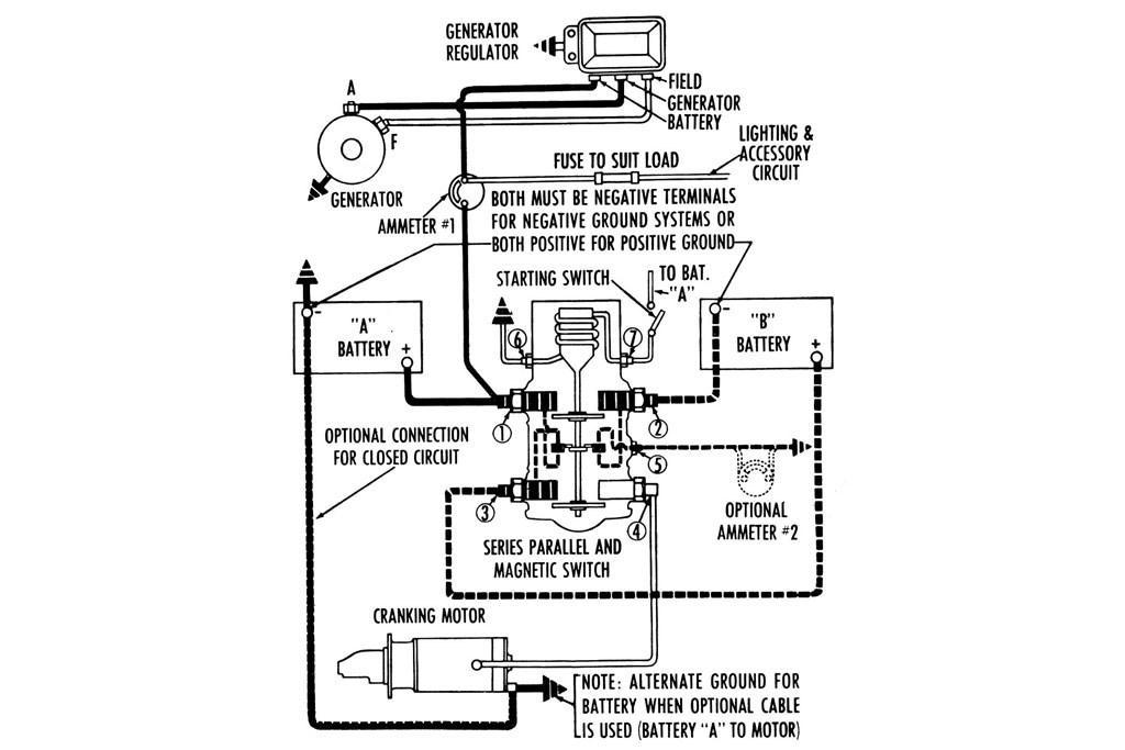 Advice Series Parallel Switches Explained Www Trucksales Com Au