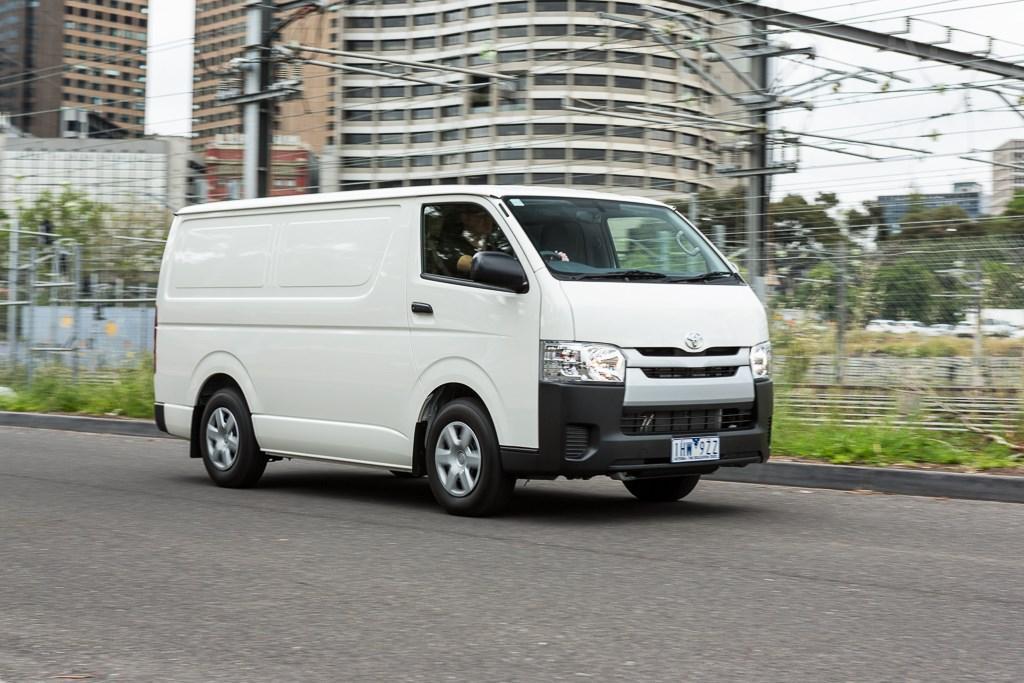 f0c4dc9471 2016 Toyota HiAce  Review. It s dominated Australia s Medium van ...