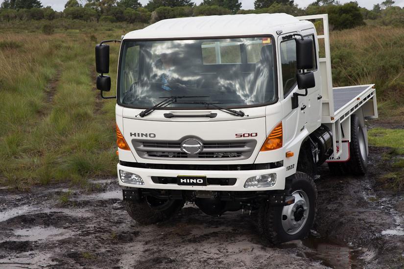 Hino announces 500 Series 4x4 upgrade - www trucksales com au