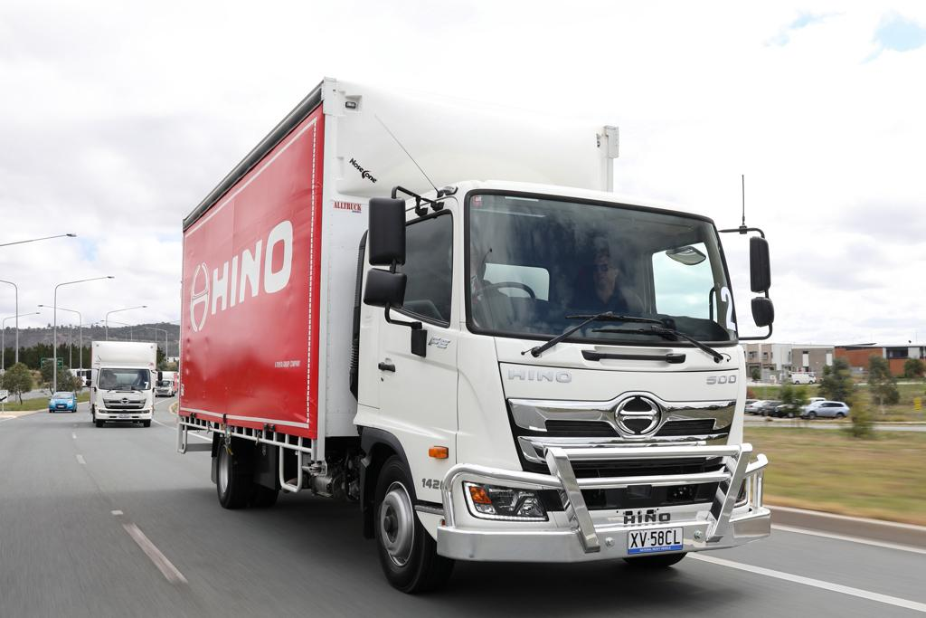 2019 Hino 500 Series Standard Cab Launch Review