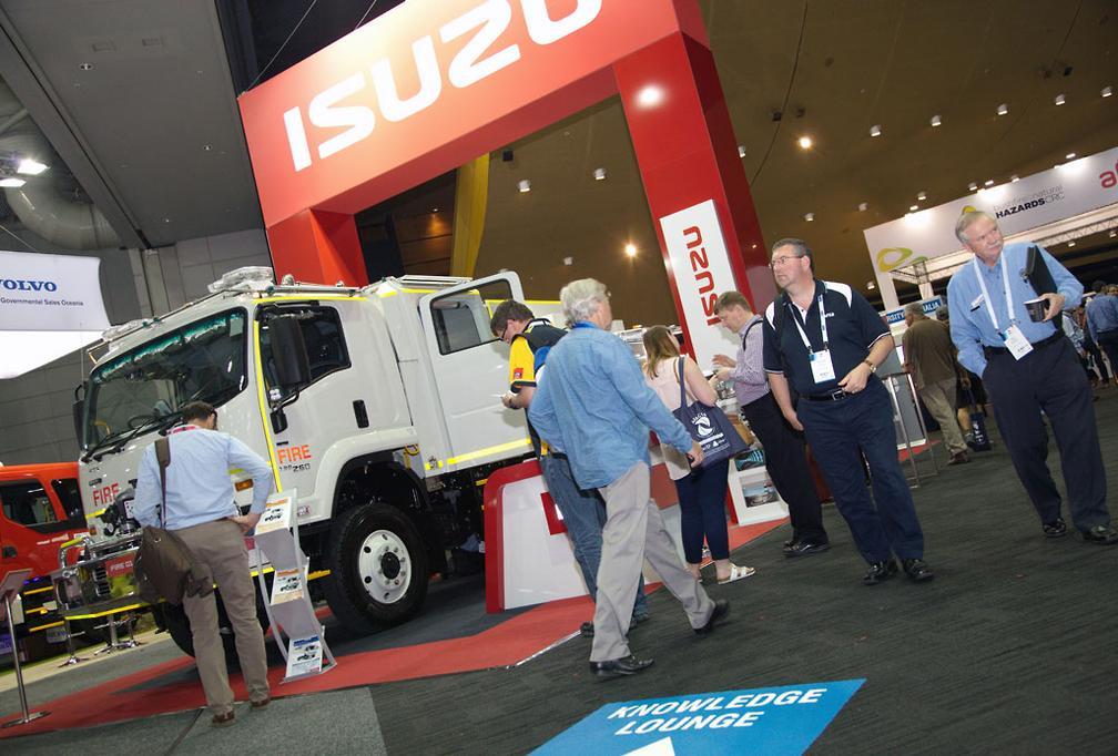 Isuzu Australia to display at AFAC19 - www trucksales com au