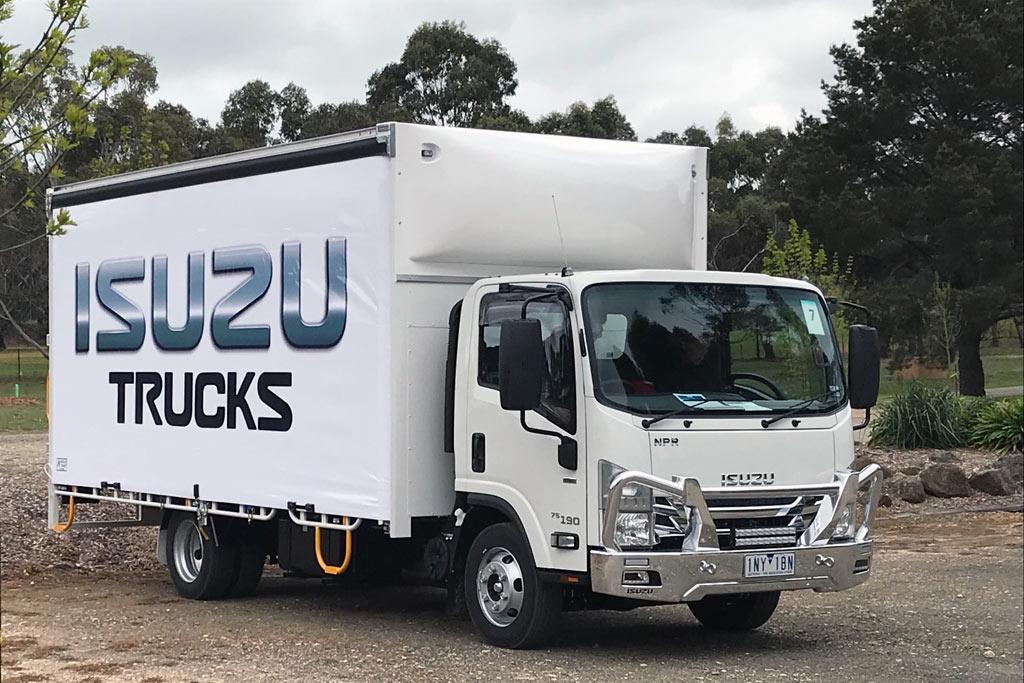 Isuzu announces new models in 2018 N-Series update - www trucksales