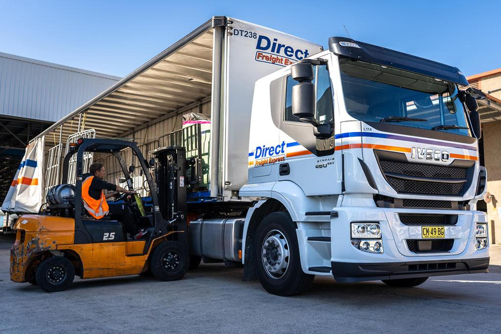 Net Direct Trucks >> Direct Freight Express Grows Iveco Stralis Fleet Www