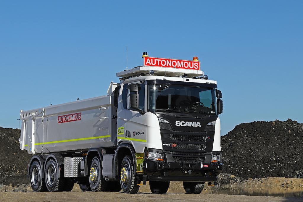 Scania and Rio Tinto trial autonomous truck - www trucksales