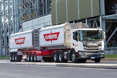 Scania R730 Quad Roadtrain: Review - www trucksales com au