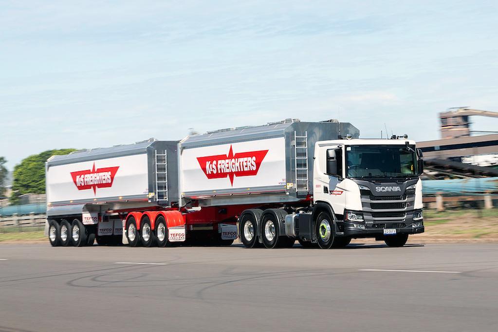 Scania fleet