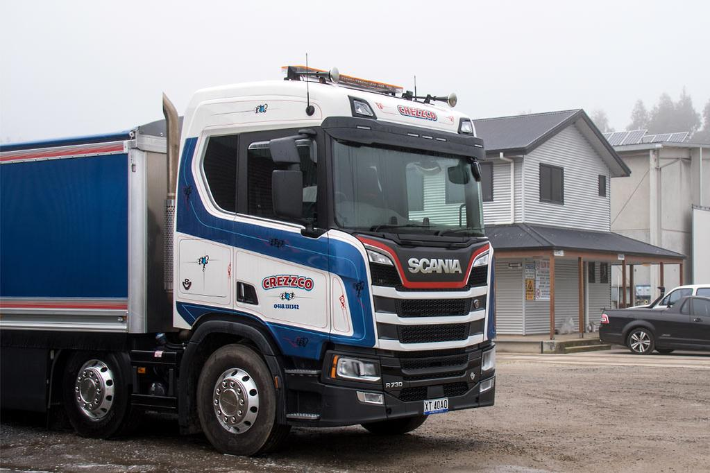 Scania NTG R730 8x4 Review - www trucksales com au