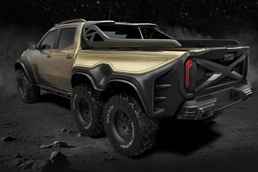 Mercedes Benz X Class Ute Goes Big Www Trucksales Com Au